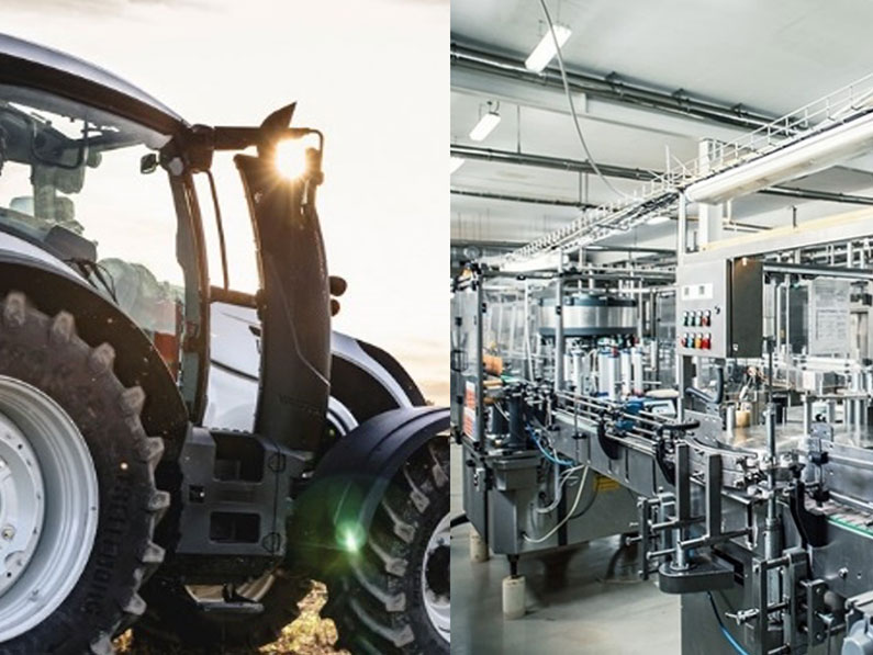 Priema BV levert aan de Agriculture en Food Processing Branches